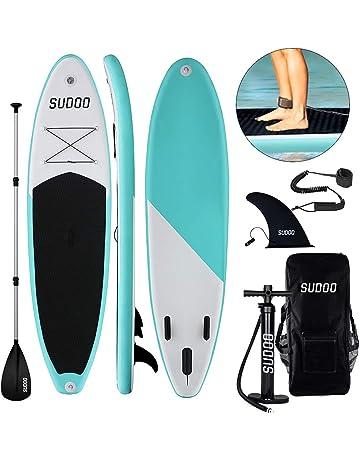 6815bb3194 Triclicks Tavola da Paddle Surf Paddle Board (15 cm di Spessore) Pagaia,  Pompa