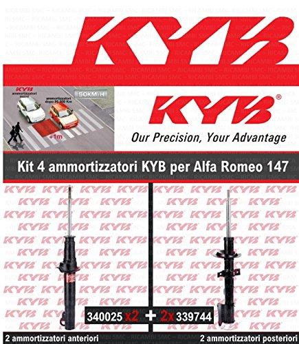 Kit 4/amortisseurs Kayaba 2/Ant 2/Post