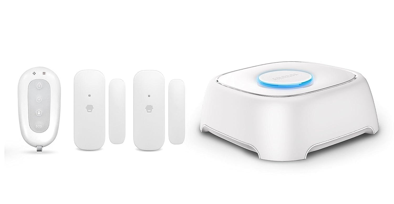 Smanos Sistema de alarmas con WiFi W020, 1.5 V, Color Blanco