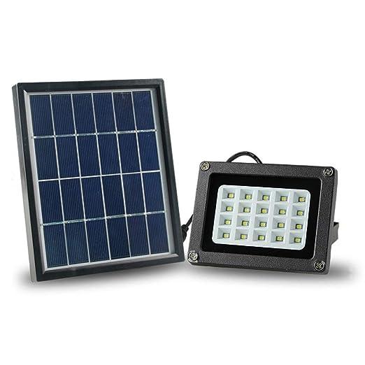 H-XH Solar Foco Proyector LED,IP65 A Prueba De Agua para La ...