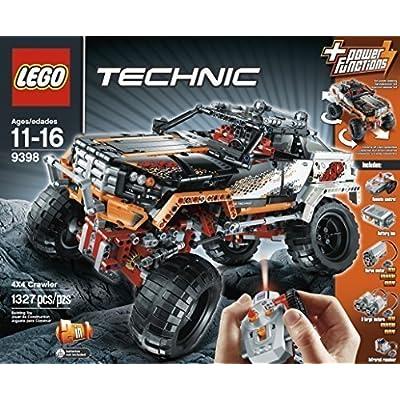 LEGO Technic 9398 Rock Crawler by LEGO Technic: Toys & Games