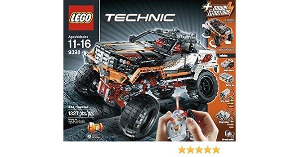 Amazon Lego Technic 9398 Rock Crawler By Lego Technic Toys Games