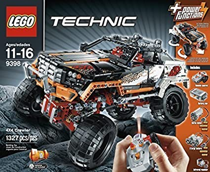 Amazon Lego Technic 9398 Rock Crawler By Lego Technic Toys Games