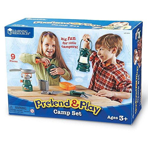 Pretend & Play Camp Set For Kids