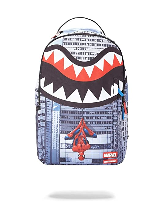 SPRAYGROUND BACKPACK SPIDERMAN UPSIDE DOWN SHARK