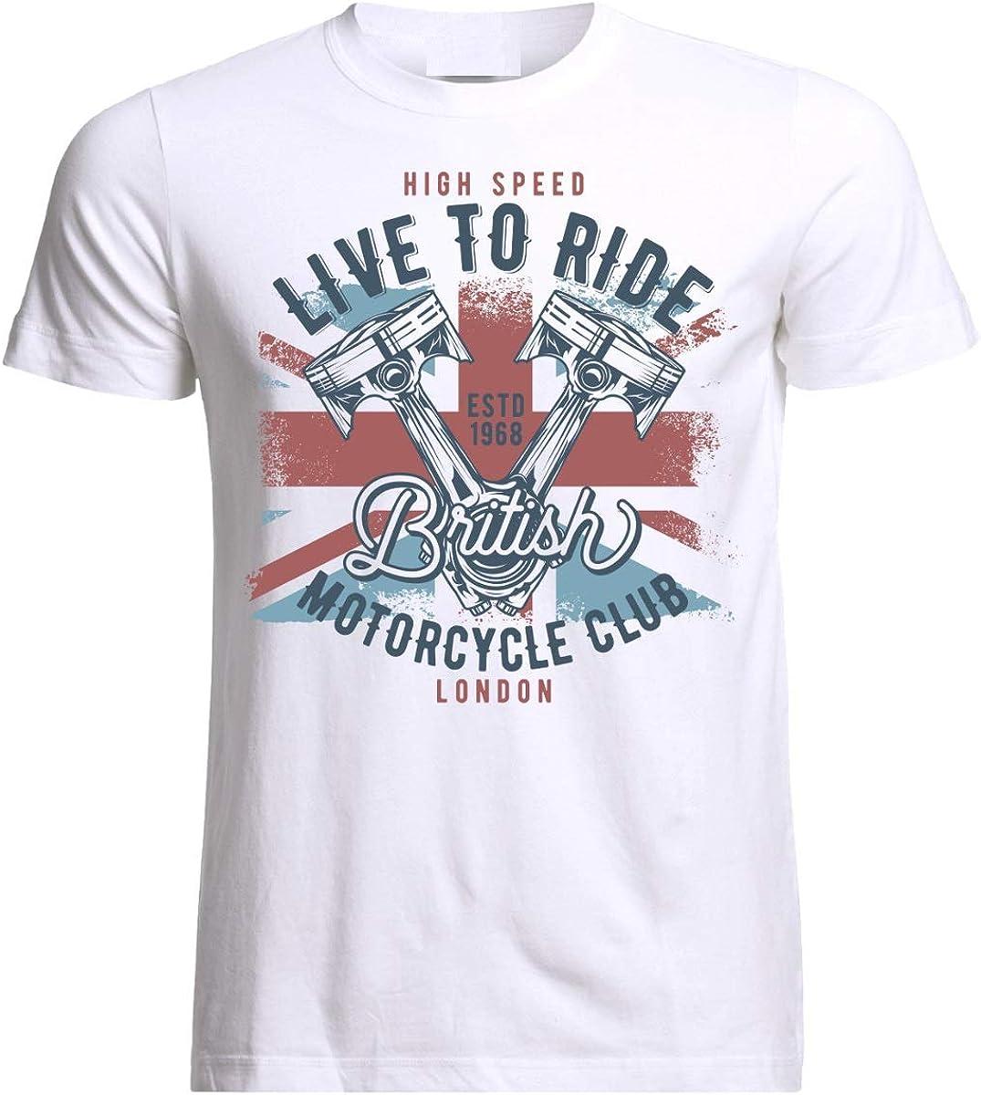 Motorcycle Chopper Motocross Bike Biker Motorrad Moto Rider T-Shirt
