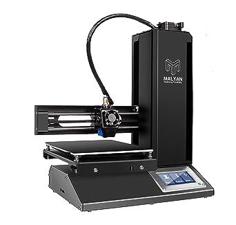 Amazon.com: MALYAN Impresora 3D con placa montada, hoja de ...