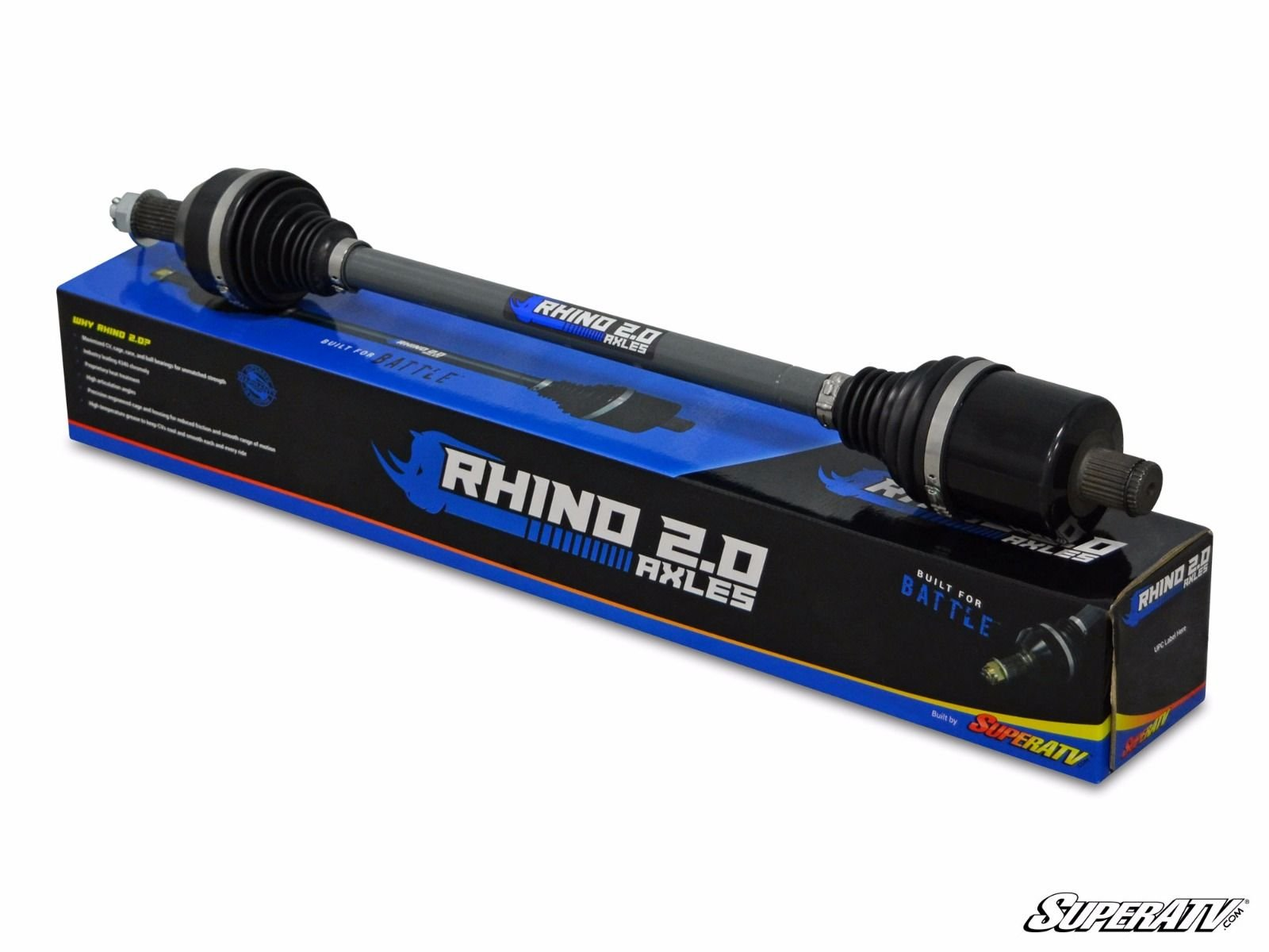 Polaris RZR XP 1000 and RZR XP 4 1000 All Years (Front Side) Rhino 2.0 Stock Axles By SuperATV AX01-004F0