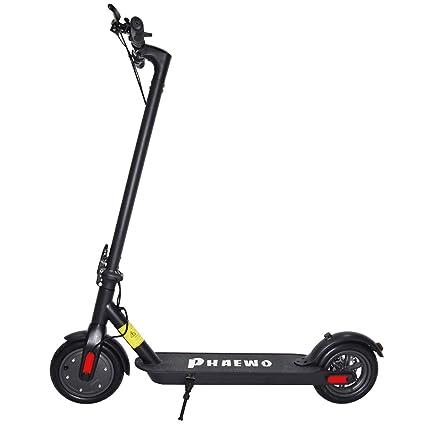 Amazon.com: Phaewo - Patinete eléctrico plegable con batería ...