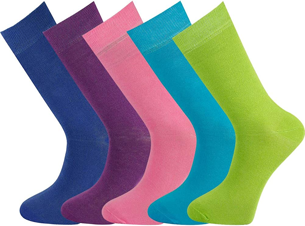 Mysocks Ladies Plain Ankle Socks Gift Box Combination 007 Size 4-6