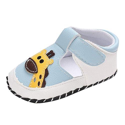 LANSKIRT Zapatos Bebé Primeros Pasos Zapatos de Dibujos Animados ...