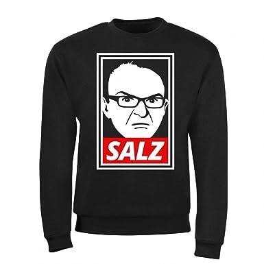 PietSmiet Salz - Sweatshirt | Original Fan-Artikel | in Schwarz aus  Baumwolle | Herren Damen Unisex | YouTube Merchandise