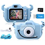 GREPRO Kids Camera,1080P 20MP 2.0 Inches Screen Toddler Digital Camera for Boys and Girls Anti-Drop Children Camera for…