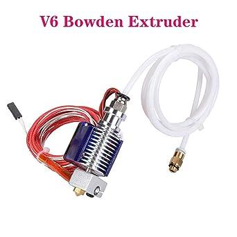 PoPprint 3D V6 J-Kopf Hotend Bowden - Extrusor completo con ...