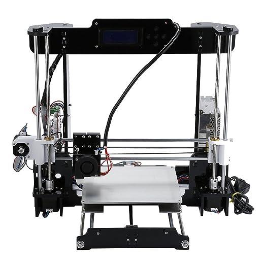 blackpoolal A8 Impresora 3d Kit Dos Color Impresión Grandes ...