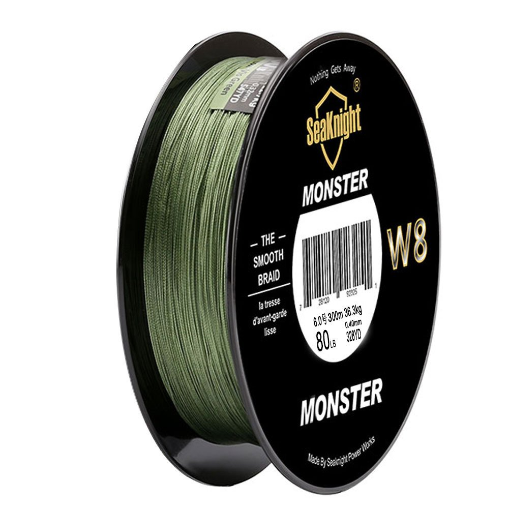 Braided Fishing Line – Advanced 8 Strand Braided Fishing Line for Maximum Casting Distance & Durability for Saltwater & Fresh Water Surf Fishing,Bass Fishing,Fly Fishing