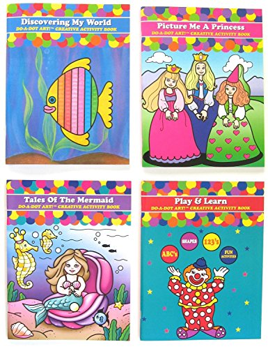 Do A Dot Art Coloring Books Gift Set Play and Learn Tales of