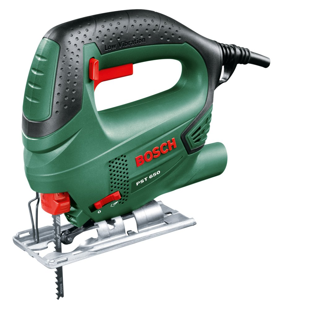 Bosch PST 650 Seghetto Alternativo Compact Easy, Nero/Green product image