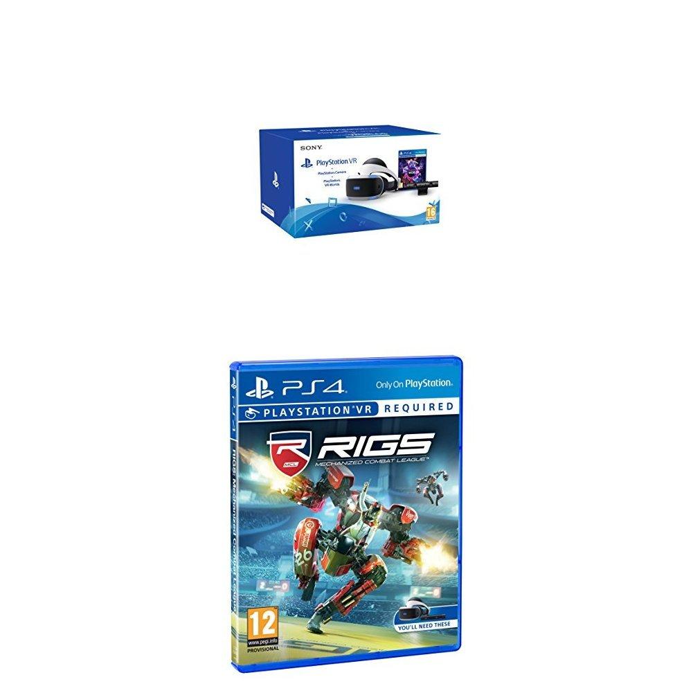 Sony - PlayStation VR + VR Worlds + Cámara (PS4) + RIGS ...