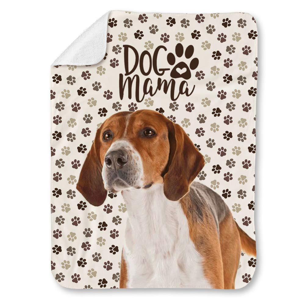 Amazon.com: NIWAHO English Foxhound Dog and Paws Themed ...