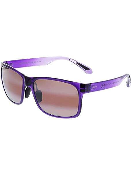 Maui Jim - RED SANDS 432, Geométrico, acetato, mujer, PURPLE SHADED/