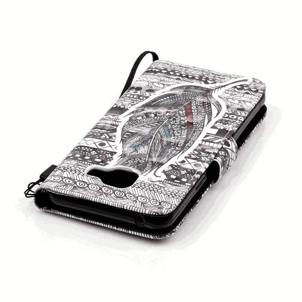 Samsung Galaxy S7 Flip Case Cover for Samsung Galaxy S7 Leather Cell Phone Cover Luxury Business Card Holders Kickstand with Free Waterproof-Bag
