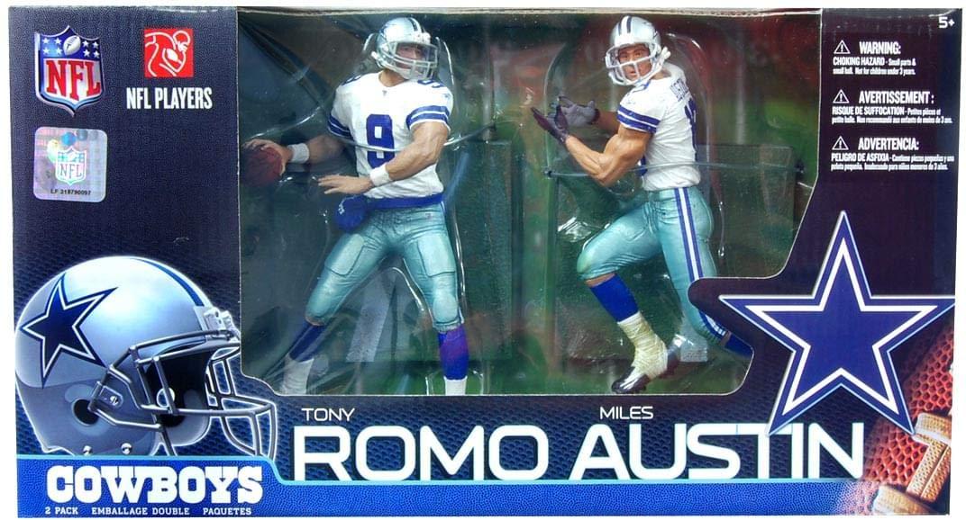 NFL 2-Pack Cowboys Tony Romo vs. Miles Austin