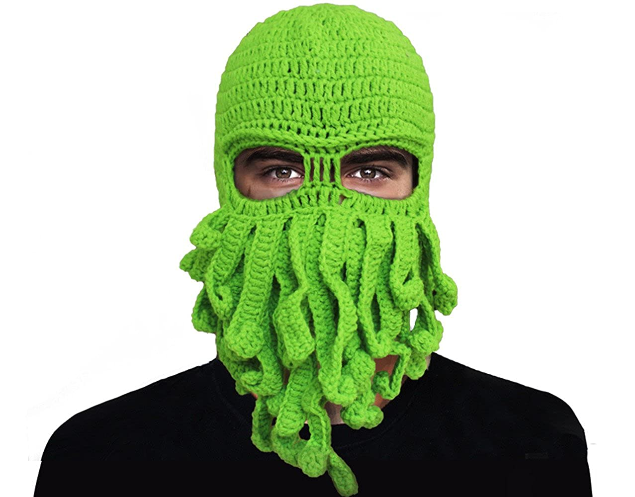 5c278d9a1f2 ... Cool warm octopus beanie protect you from cold wind!(     ) Elastic  closure. Material  woolen