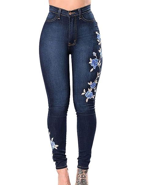 Pantalones Vaqueros De Las Señoras Pantalones Pantalones De ...