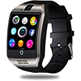CNPGD Smart Watch for Android Phones Samsung iPhone Compatible Quad Band Unlocked Watch Cell Phone Touch Screen Fitness Track