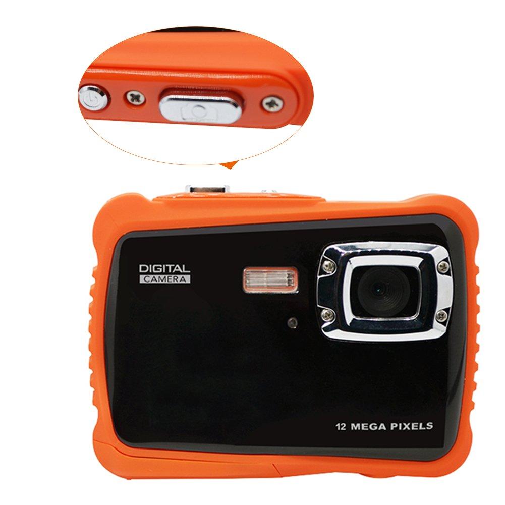 Ming WTDC-5262J 720P 12 MP Cam/éra Vid/éo Num/érique Appareil Photo Num/érique /Étanche R/ésistant /à la Poussi/ère avec Zoom Num/érique 5MP 3 M/èters Waterproof Cam/éra /Étanche pour