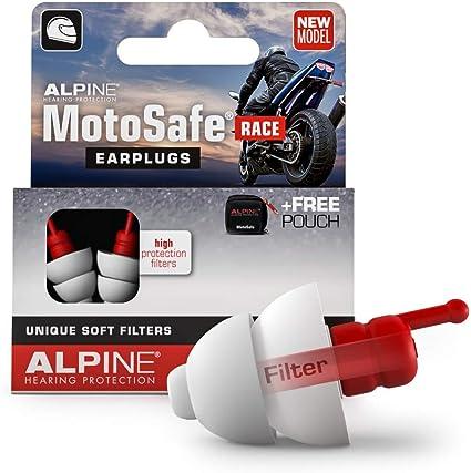 Tappi per Orecchie da Moto Alpine MotoSafe Race