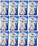 Four Paws Wee-Wee Disposable Male Dog Wraps, Medium/Large 144ct (12 x 12ct)