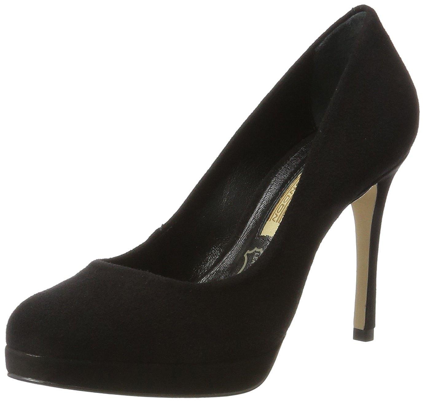 TALLA 39 EU. Buffalo London Zs 7906-16 Suede, Zapatos de Tacón para Mujer