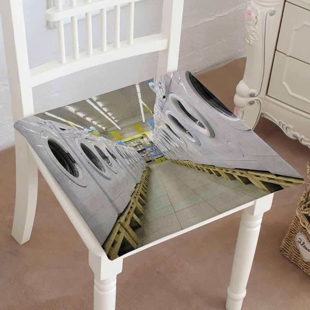 Mikihome 椅子パッド 正方形シート デポジット写真 ストックバー レストラン アウトドア ダイニング ガーデン パティオ ホーム キッチン オフィス 14インチ x 14インチ x 2個 28