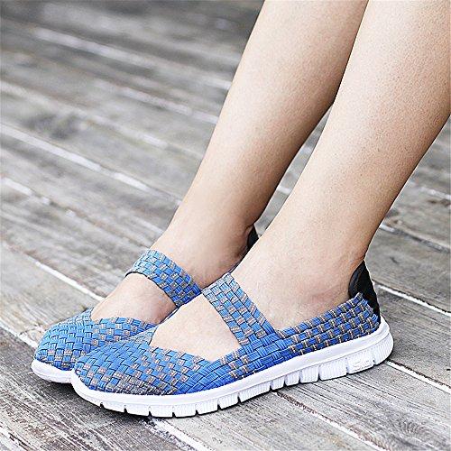 577 para Blue Mujer Zapatillas FZDX nvWqB1q