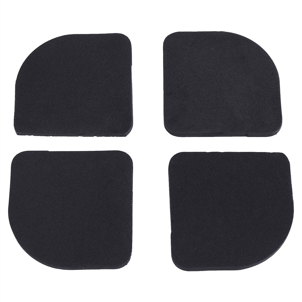 Anti-vibration Mat Rubber Silent Feet Pads Washing Machine Anti-Vibration Shock Pads Mat Feet Machine Non-slip Mat 4pcs Haofy