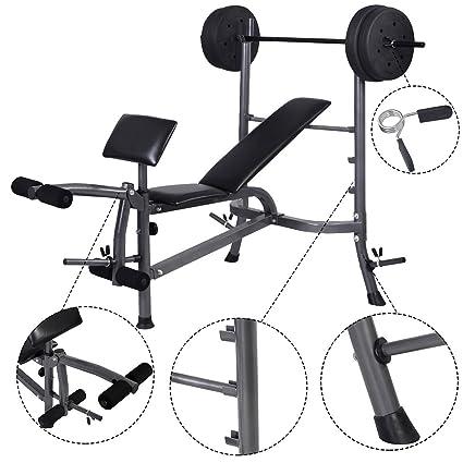 Peso de musculación prensa gimnasio casa ejercicio Fitness W/27,22 kg peso placas