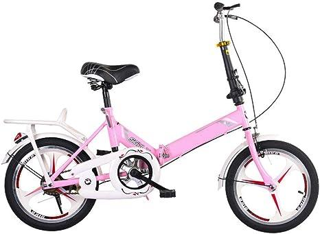 SYCHONG Bicicleta Plegable, De 16 Pulgadas Y Trabajadoras para ...