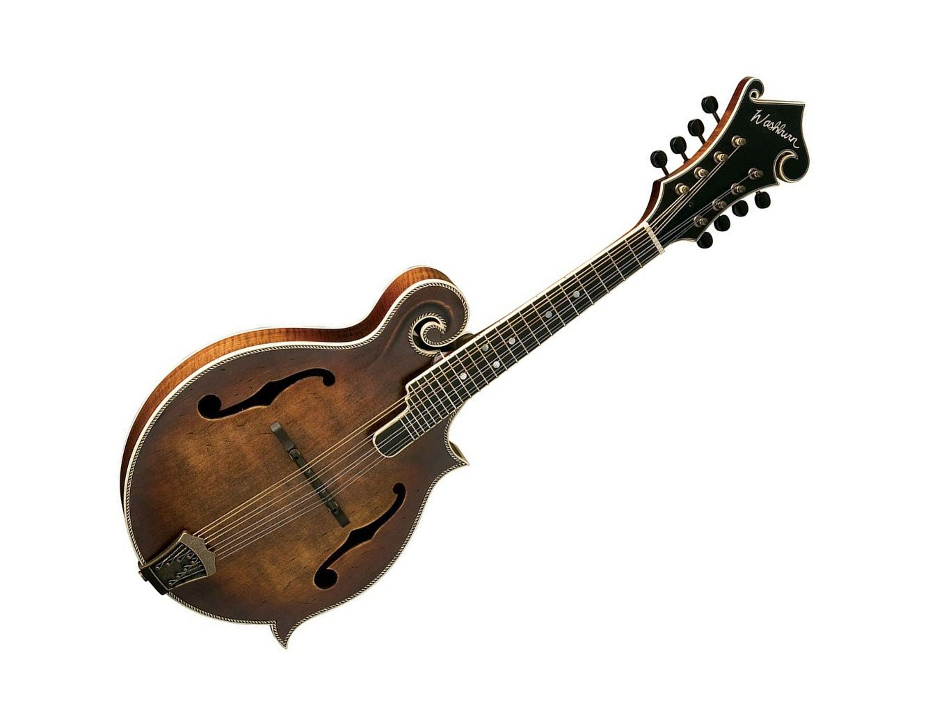 Washburn Vintage Series F-Style Mandolin w/ Hard Case