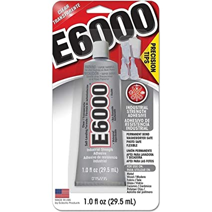 Amazon.com: E6000 Adhesive Glue with Precision Tips - 29.5ml ...