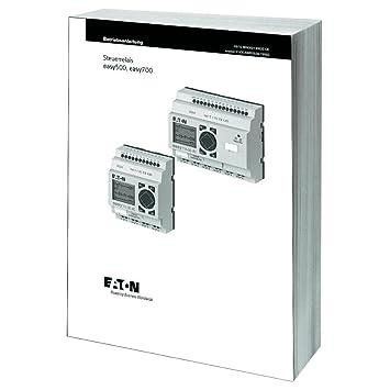 Eaton 278499 Handbuch für die Steuerrelais easy500/700, MN05013003Z ...