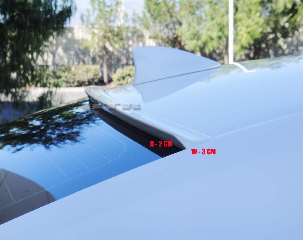 JR2 Painted White Color for 2014 2015 216 2017 2018 2019 Acura TLX Rear Window Roof Spoiler