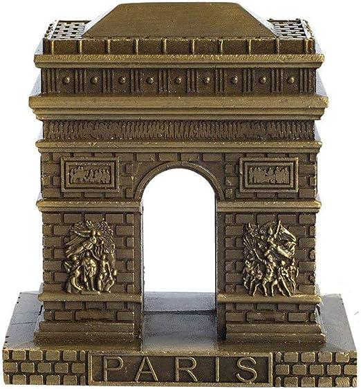 Vintage World Famous Building Model Statue Figurine Metal Souvenir Home Decor