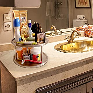 Kitchen Magic Two Tier Lazy Susan - on countertop 2
