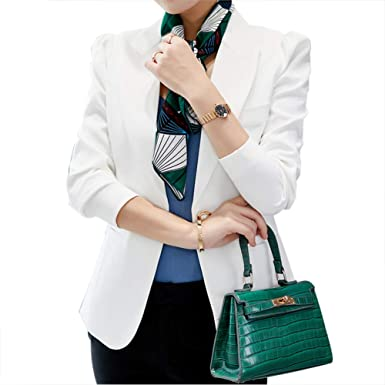 MISSMAO_FASHION2019 Mujer Otoño Primavera Elegante Blazers y ...