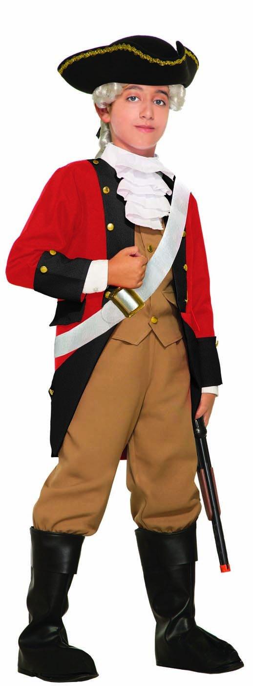 British Red Coat Child Costume - Small