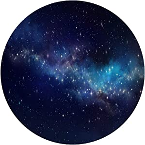 Ceramic Stoneware Dinner Plates,Star Cluster And Nebula Shining In A,dinner Plates For Indoor And Outdoor Use,break-resistant,10 Inch 6 Piece Set