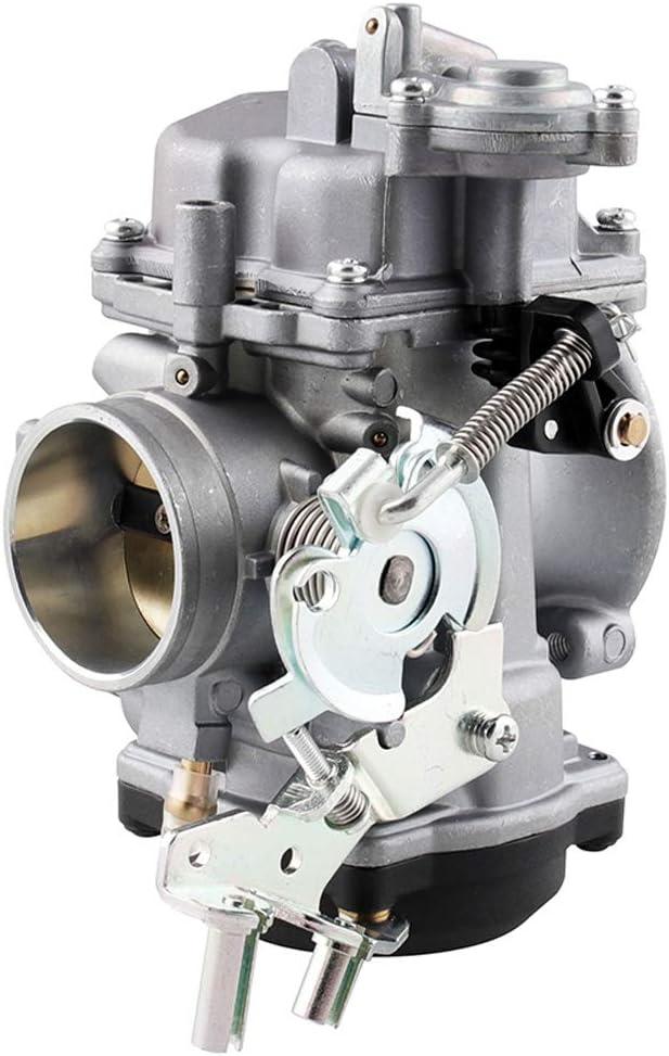 Semoic Carburant de Carburateur de Moto de CV 40Mm pour Les Accessoires de Moto DElectra Glide de Sportster 883 1200