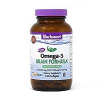 Bluebonnet Nutrition Omega-3 Brain Formula Natural Wild Caught Triglyceride Form...